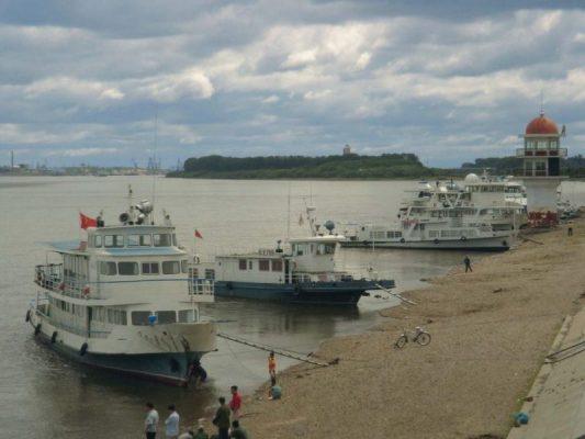 Река Амур и Чехов
