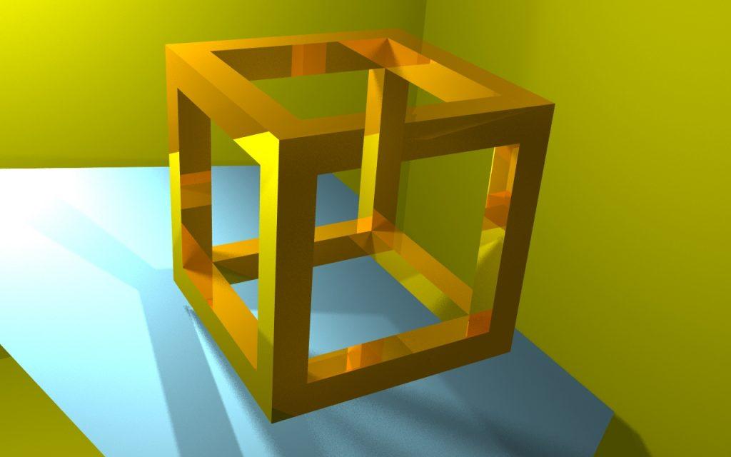Правильный куб - интересный ракурс - Статья: как рассчитать объём